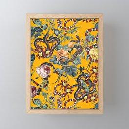 Dangers in the Forest III Framed Mini Art Print