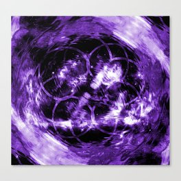 Purple Aura Canvas Print