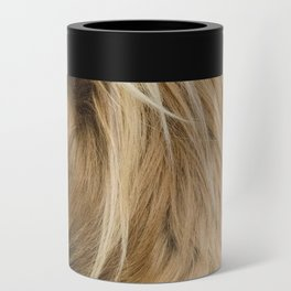 Highland Cow Portrait Can Cooler