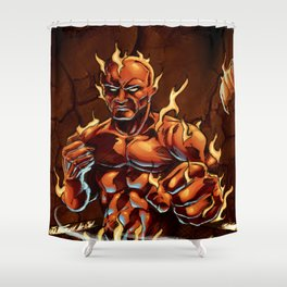 Cluster Fight Shower Curtain