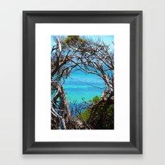 Simons Window Framed Art Print