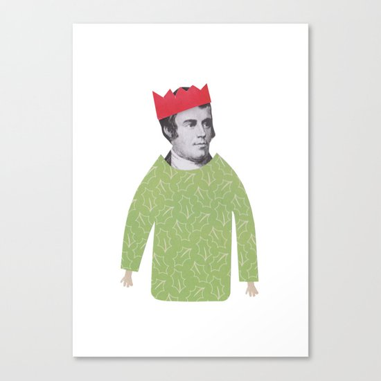 The embarrassing Christmas Jumper Canvas Print