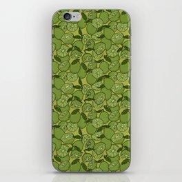 Lime Greenery iPhone Skin