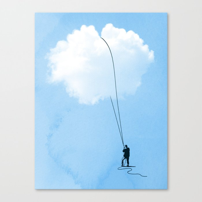 Clearing Things Up Canvas Print