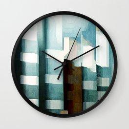 Flutes Wall Clock