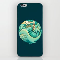 Into the Ocean iPhone Skin