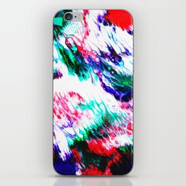 Colorful Fluctuation iPhone Skin