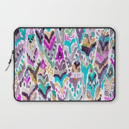 Abstract Colorful Feathers Laptop Sleeve