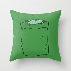 Bulba-saur Pocket Monster... Throw Pillow
