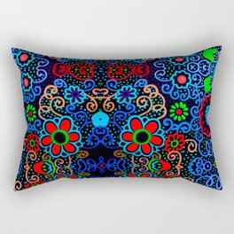 Primary Colors Rectangular Pillow
