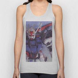 Strike Gundam Unisex Tank Top