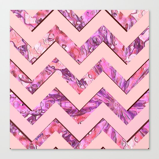 Girly Pink Canvas Print