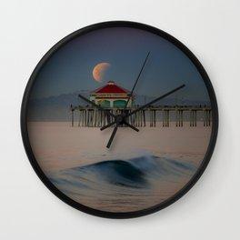 2018 Super Blue Moon Lunar Eclipse Wall Clock