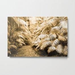 Subtropical vegetation Metal Print