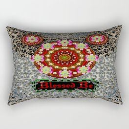 Blessed be and merry Rectangular Pillow