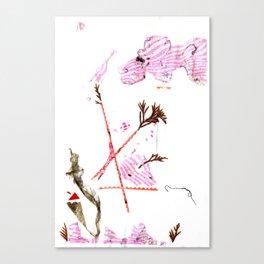 Mermaid Garden Canvas Print