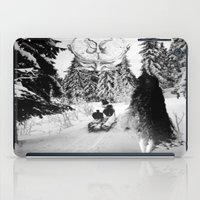 pagan iPad Cases featuring Pagan forest by Kristina Haritonova