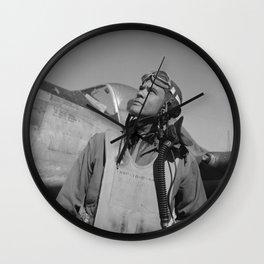 Benjamin Davis Jr. - WW2 Wall Clock