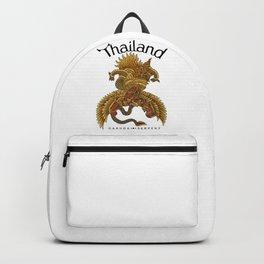 Garuda and Serpent Backpack