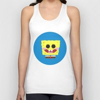 spongebob Tank Tops featuring Spongebob Squarepants by Eyetoheart