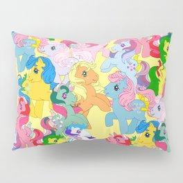 g1 my little pony collage Pillow Sham