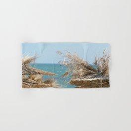 The Black Sea Coast, Varna,Bulgaria, 'Summer 's not over yet' Hand & Bath Towel