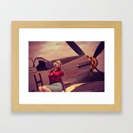 Janie Framed Art Print