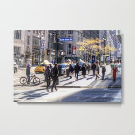 East 42nd Street Metal Print