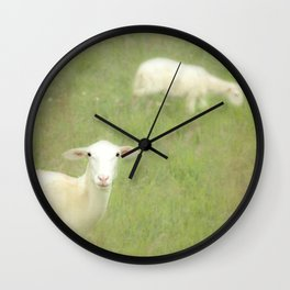 Little lamb, who made thee? Wall Clock