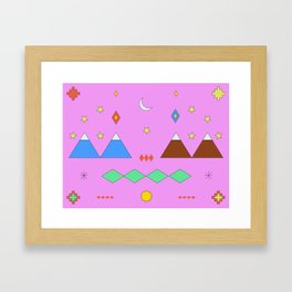 Visiting Temuco Framed Art Print