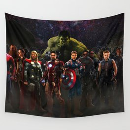 super hero Wall Tapestry