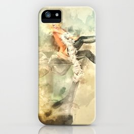 Shaken, not stirred iPhone Case