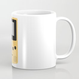 Gameboy Colour Yellow Coffee Mug