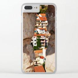 Trogir through the stone wall Clear iPhone Case