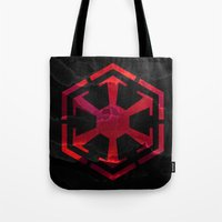 sith Tote Bags featuring Star Wars Sith Empire by foreverwars