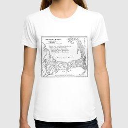 Vintage Map of Cape Cod (1890) T-shirt