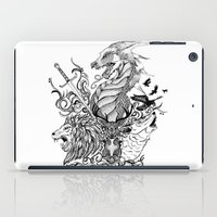 game of thrones iPad Cases featuring Game of Thrones by Ink Tales