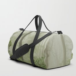 Great Smoky Mountains National Park - Forest Fog Adventure VI Duffle Bag