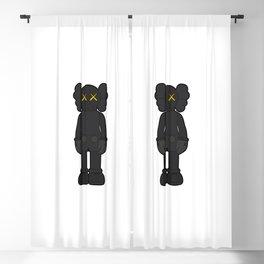 KAWS - Companion Open Edition Vinyl Figure Black Blackout Curtain