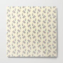 Cup Pattern 1 Metal Print
