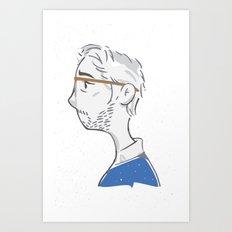 Portrait in Melancholia Art Print