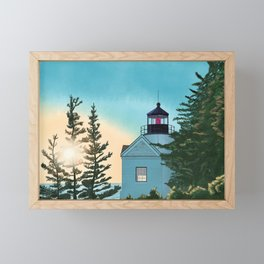 Shine the Light Framed Mini Art Print