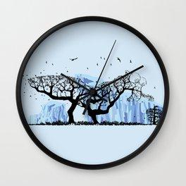 Scrat Tree Wall Clock