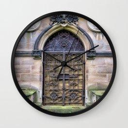 IRON DOOR Wall Clock