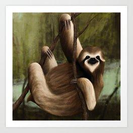 It's a Sloth Art Print
