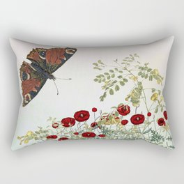 'Serenity only a deliberate hebitude' Rectangular Pillow
