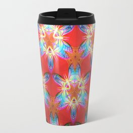 Nine-Pointed Star Flower: Perfection Travel Mug
