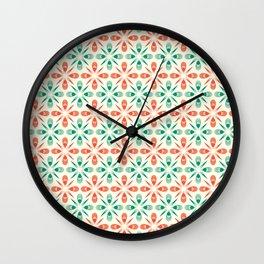 That 70-ies pattern Wall Clock