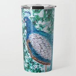 Peacock Forest Travel Mug