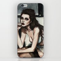 angelina jolie iPhone & iPod Skins featuring Angelina Jolie by vooce & kat